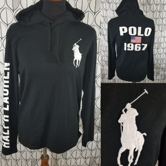 26dee20d Polo by Ralph Lauren Shirts | Polo Ralph Lauren Black Spellout Big ...